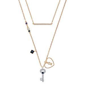 Swarovski glowing key necklace, stunning!